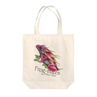 カエルメイト(Frog-mates)より「ピタヤドクガエル」 Tote bags