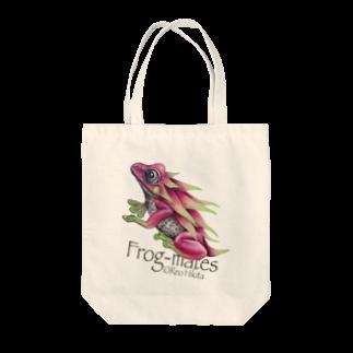 引田玲雄 / Reo Hikitaのカエルメイト(Frog-mates)より「ピタヤドクガエル」 Tote bags