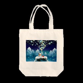 KimikoUmekawaの星屑 トートバッグ