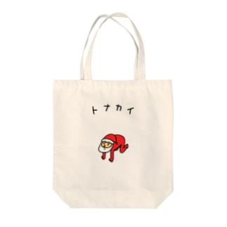 クリスマスのトナカイ トートバッグ