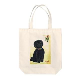Hughのクリスマス Tote bags