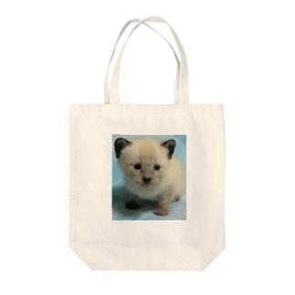 チビちゃん Tote bags