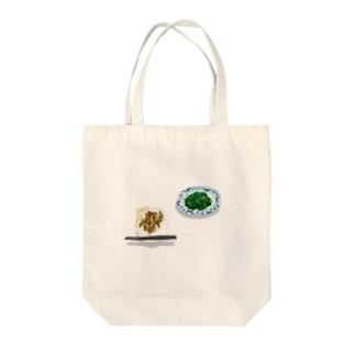 魯肉飯と空心菜の炒め物 Tote bags