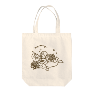 vi0latteの退屈な人魚 Tote bags