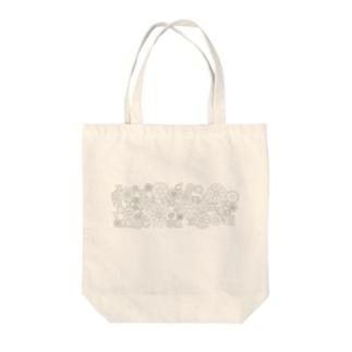 カチッカチッカチッ Tote bags