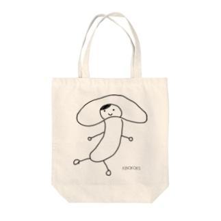 しいたけ子さん Tote bags