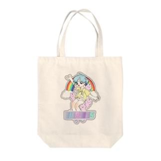 きらきら虹彩   虹のように Tote bags