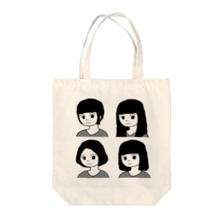 める4種 Tote bags