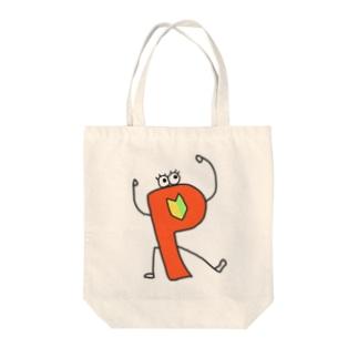 Perl入学式くん Tote bags