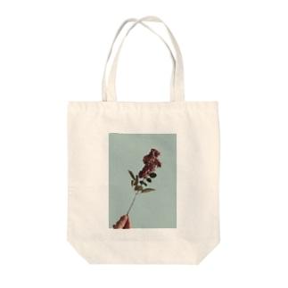 私の温かい花 Tote bags