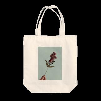 空洞商店の私の温かい花 Tote bags