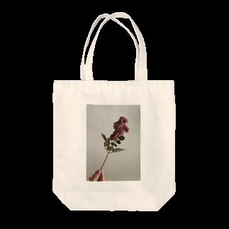 空洞商店の私の温かい花 自然ver. Tote bags