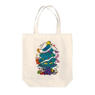 CALL MOLA 《Christmas tree》 Tote bags