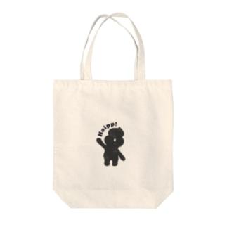 ホイップくん Tote bags