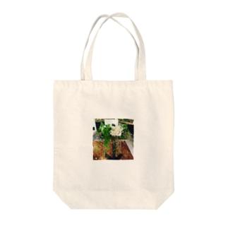 アレンジメント Tote bags
