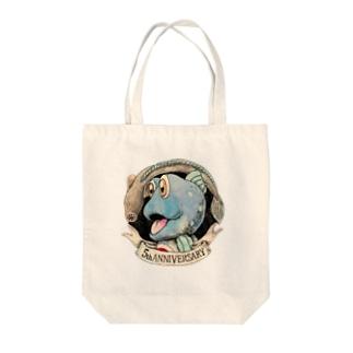 ガタゴロウ5周年記念 Tote bags