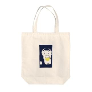 呑んだくれ猫 Tote bags