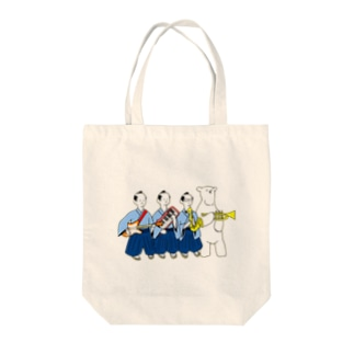JAZZサムライ Tote bags
