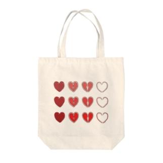 報われない恋 Tote bags