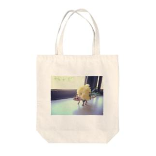 とりけらさん Tote bags