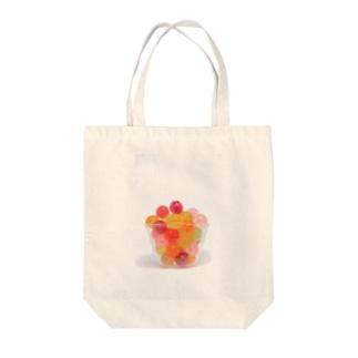 かおかし・キャンディ Tote bags