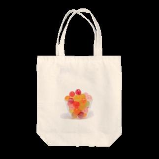 3pondSのかおかし・キャンディ Tote bags