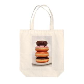 かおかし・ドーナッツ Tote bags