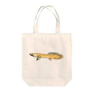ポリプテルス Tote bags