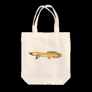 Soramameのポリプテルス Tote bags