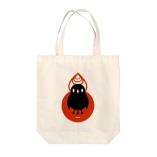 おからすさま Tote bags