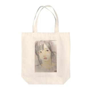 ご機嫌女子 Tote bags