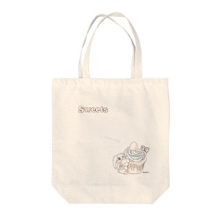 sweets(カップケーキ) Tote bags