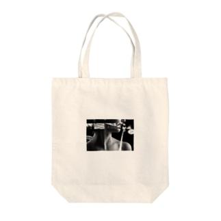 コラージュ Tote bags