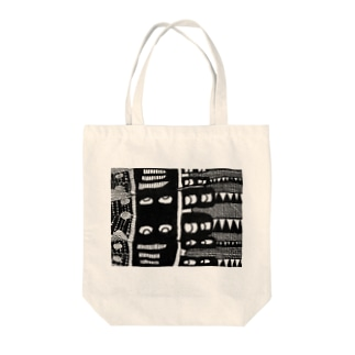 Darkness Tote bags