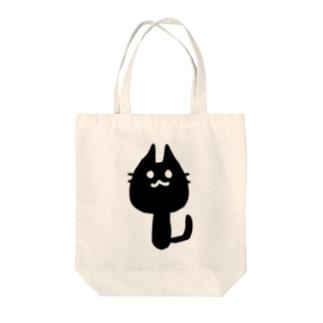 にょろねこ Tote bags