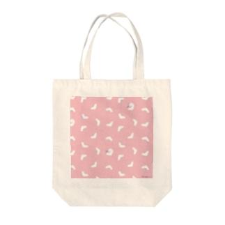 桃色ぱんつ Tote bags