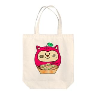 ねこリン買い物 Tote bags
