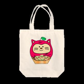 ねこリン【硬式】のねこリン買い物 Tote bags
