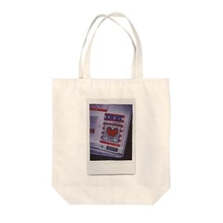 love & peace Tote bags
