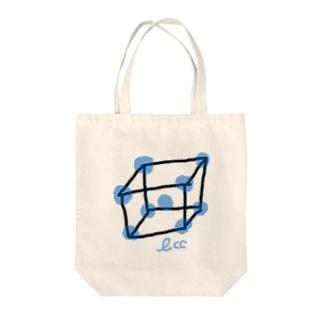 bcc構造 Tote bags