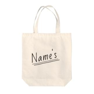 Name's Tote bags