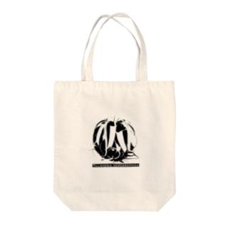チランジア・キセログラフィカ モノクログラフィック Tote bags