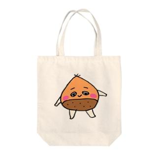 栗どん Tote bags