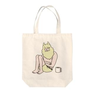 おやすみルーカス2 Tote bags