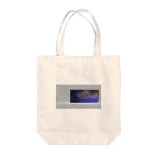 花火バッグ Tote bags