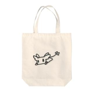 るくく(ねそべりバージョン) Tote bags