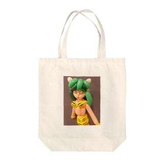 バルーンアート 鬼娘 Tote bags