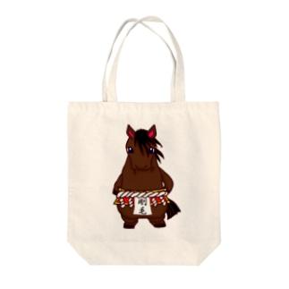メルシーモンサン(剛毛神) Tote bags