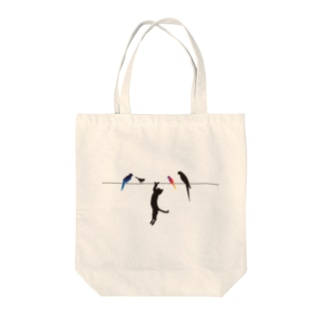 Wire & CAT Tote bags