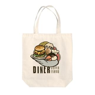 ダイナージャワ・フィンチ Tote bags